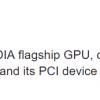 Упоминание Nvidia Volta GV100 замечено в драйверах