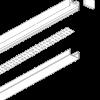 Сборка линейного светодиодного светильника