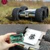 За несколько дней на выпуск MonsterBorg — самоходного шасси для робота, управляемого Raspberry Pi, собрано втрое больше средств, чем намечалось