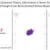 Введение в парадокс исчезновения информации в чёрной дыре