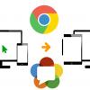 Cкринкастинг на сайте по WebRTC из браузера Chrome
