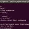 Speech AI с Python & Google API