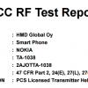 В базе данных FCC замечен смартфон Nokia TA-1038