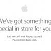 Онлайн-магазин Apple Store дразнит сообщением о появлении через несколько часов нового продукта