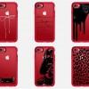Casetify выпустила серию чехлов для красного смартфона iPhone 7