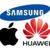 Аналитик считает, что в ближайшее время основным конкурентом Apple станет не Samsung, а Huawei