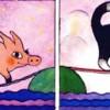 Веселые картинки для развития мышления ребенка