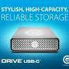 Новый внешний накопитель G-Technology G-Drive оснащен портом USB-C