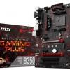 Материнская плата MSI B350 Gaming Plus рассчитана на процессоры AMD Ryzen
