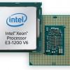 Процессоры Intel Xeon, модельный ряд весна-лето 2017