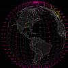 SpaceX создаст спутниковую сеть с высокой пропускной способностью и задержкой в 25 мс