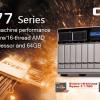 QNAP TS-x77 — первые в мире NAS на процессорах AMD Ryzen
