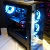 Передняя панель компьютерного корпуса Xigmatek Refract S1 сделана прозрачной