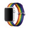Ремешки Pride Edition Woven Nylon для часов Apple Watch несут символику сообщества ЛГБТ
