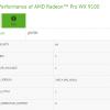 Профессиональный графический адаптер Radeon Pro WX 9100 также будет основан на GPU Vega 10