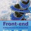 Книга «Front-end. Клиентская разработка для профессионалов. Node.js, ES6, REST»