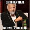 Логарифмируй это: метод логарифмической производной в машинном обучении