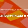 Деловая игра Kanban-пицца в офисе Туту.ру