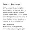 ASO: ранжирование в App Store и Google Play (найди 10 отличий в алгоритмах)