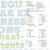 Сheat-sheets «регулярные выражения»