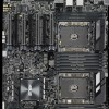 Системная плата Asus WS C621E SAGE рассчитана на два процессора Intel Xeon в исполнении LGA 3647