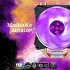 Конструкция системы охлаждения Cooler Master MasterAir MA410P включает четыре тепловые трубки, MasterAir MA610P — шесть