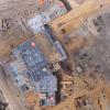 Дроны помогают контролировать ход земляных работ при строительстве госпиталя