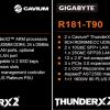 Компания Gigabyte Technology объявила о доступности серверов R181 и R281 на процессорах Cavium ThunderX2