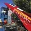 Сторонник «плоской Земли» проведет в субботу запуск ракеты