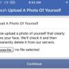 Новая разновидность капчи Facebook: загрузите фотографию, где видно ваше лицо
