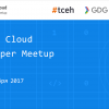 Google, Softline, GDG и #tceh организуют второй «Google Cloud Developer Meetup»