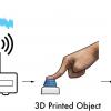 Напечатанные предметы выходят в Интернет вещей без электроники на борту