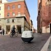В Италии работает уличный робот