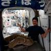 Японский космонавт вырос на МКС
