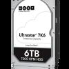 Western Digital расширяет ассортимент корпоративных накопителей на жестких магнитных дисках моделями Ultrastar 7K8 и 7K6 объемом 4, 6 и 8 ТБ
