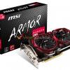 MSI готовит четыре видеокарты линейки Armor на базе GPU AMD Radeon RX 570 и RX 580