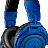 Профессиональные наушники Audio-Technica ATH-M50xBB окрашены в синий и черный цвета