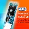 Твердотельные накопители ATP Superior N600i типоразмера M.2 с поддержкой NVMe работают при температуре от -40°C до 85°C
