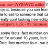 Разработка Rich Text Editor: проблемы и решения