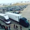Электрические грузовики Tesla Semi уже начали перевозить грузы на большие расстояния