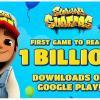 Subway Surfers — первое в истории игровое приложение для Android, скачанное более миллиарда раз