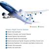 Российские учёные разработали матрицу активных актуаторов против турбулентности для крыла самолёта