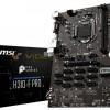 Системная плата MSI H310-F Pro для добычи криптовалют поддерживает процессоры Intel Coffee Lake