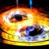 Спросите Итана: может ли материя убежать из-за горизонта событий во время слияния чёрных дыр?