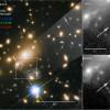 «Хаббл»увидел голубого сверхгиганта на расстоянии 10млрд световых лет. Это самая дальняя звезда в истории наблюдений