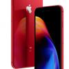 Смартфоны iPhone 8 и iPhone 8 Plus стали доступны в красном цвете в рамках линейки (Product) RED