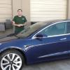 Электромобили Tesla Model 3 теперь будут производиться круглосуточно