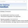 CredSSP encryption oracle remediation – ошибка при подключении по RDP