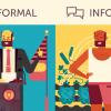 Неформальный и формальный стили речи
