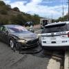 Автопилот снова подвел: Tesla врезалась в полицейскую машину
